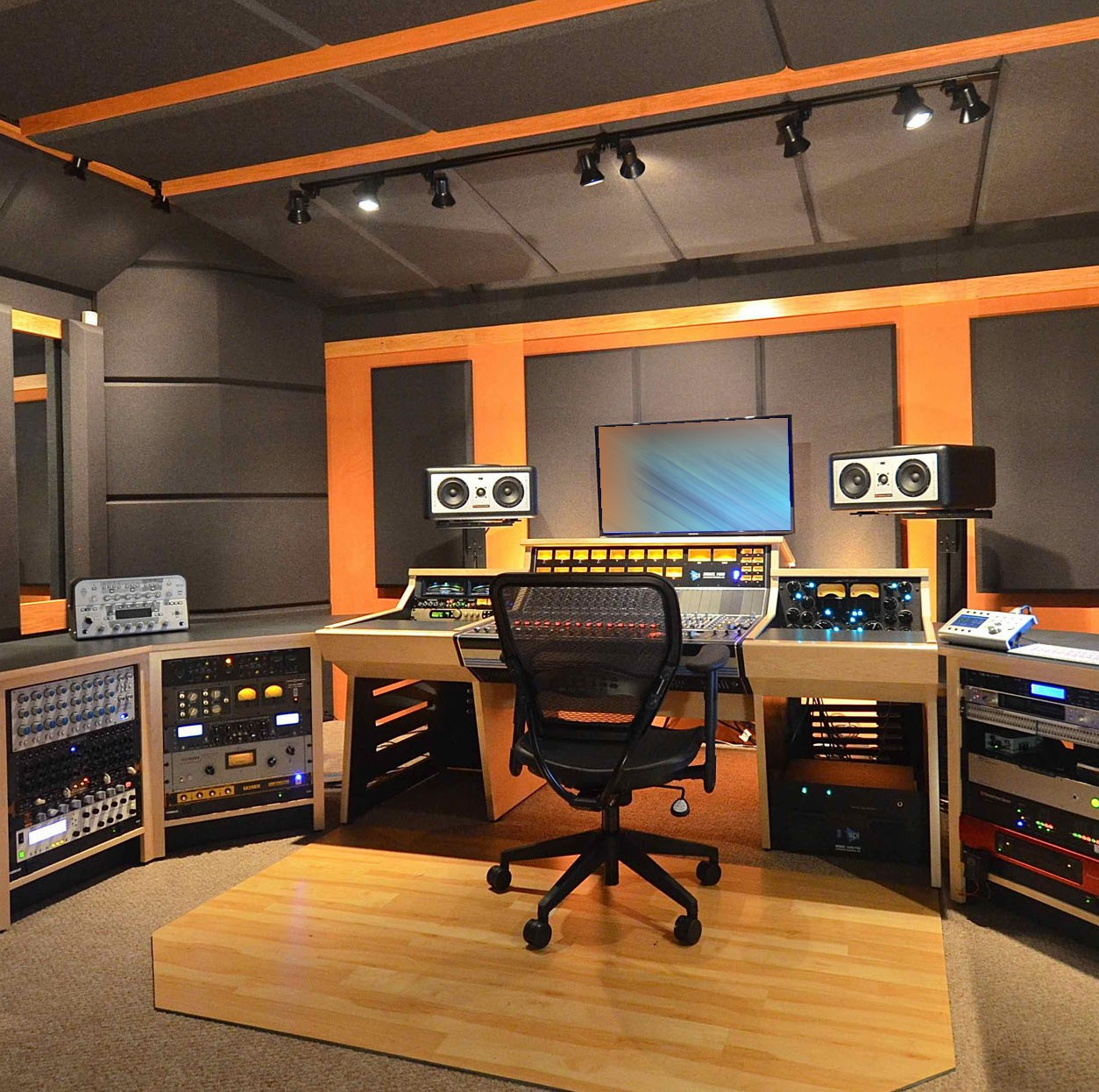 shooting and recording studios